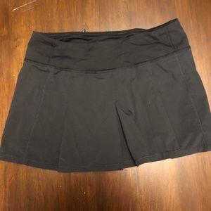 Lululemon Black Tennis Skirt Est Size 6
